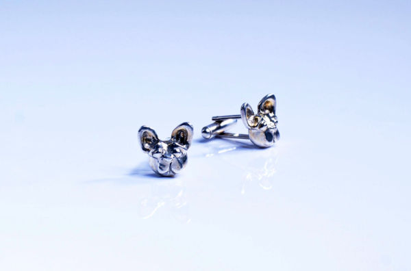 jewellery, cufflinks, FRENCH BULLDOG - Zdjecie 09.11.2014 18 14 072 600x396