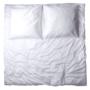 , BED LINEN WHITE - Bettwäsche EVENCKI weiß 90x90