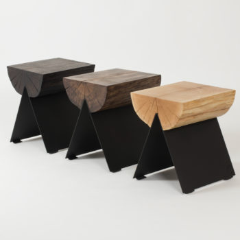 wedding-gifts, tables, stools, interior-design, furniture, bedside-cabinets, 1/2 STOOL - black options 2 350x350