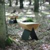 tische, hocker, mobel, wohnen, hochzeitsgeschenke, 1/2 HOCKER - stool in the forest 3 100x100