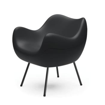 sessel, mobel, wohnen, RM58 SOFT | STEP - RM58 matt black 075 1 350x350