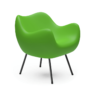 , RM58 MATT - RM58 matt green 075 1 90x90