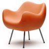 sessel, mobel, wohnen, RM58 MATT - RM58 matt orange 2 100x100