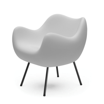 armchairs, furniture, interior-design, RM58 SOFT | FAME - RM58 matt white 075 1 350x350