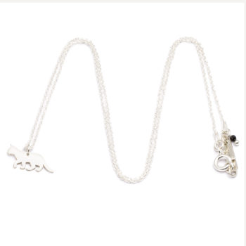 pendants, jewellery, CHAIN CAT | SILVER - ańcuszek srebrny kot 350x350