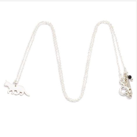 jewellery, pendants, CHAIN CAT | SILVER - ańcuszek srebrny kot 470x470