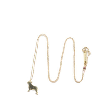 , CHAIN FRENCH BULLDOG | GOLD-PLATED - 23 350x350