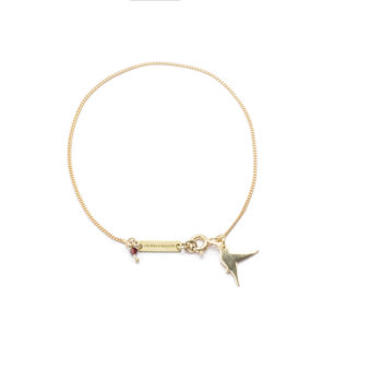 , BRACELET HUMMING BIRD | GOLD-PLATED - 5 2 350x350