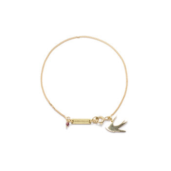 , BRACELET SWALLOW | GOLD-PLATED - 6 2 350x350