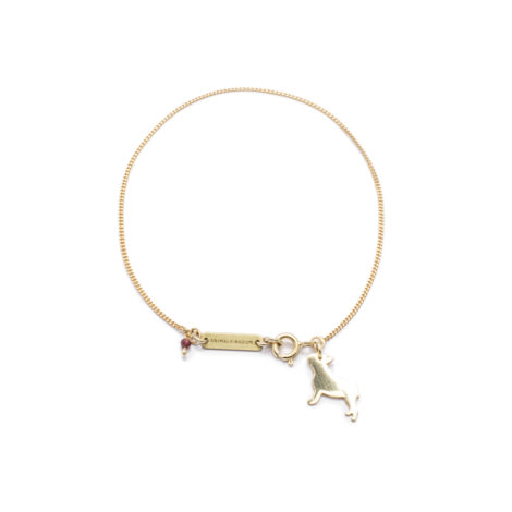 , BRACELET FRENCH BULLDOG | GOLD-PLATED - 7 2 470x470