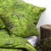 wohntextilien, wohnen, hochzeitsgeschenke, greenery, bettwaesche, HAYKA MOOS BETTWÄSCHE - mech posciel 1 100x100