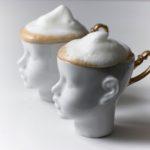 tassen, porzellan_und_keramik, wohnen, TASSE DOLL HEAD WEISS MIT GOLD - Doll2 150x150