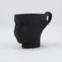 , DOLL HEAD CUP - BLACK - dollhead black front 90x90