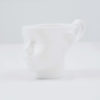 cups, porcelain_and_ceramics, interior-design, DOLL HEAD CUP - WHITE - dollhead white front 100x100
