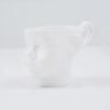 tassen, porzellan_und_keramik, wohnen, TASSE DOLL HEAD - WEIß - dollhead white front 100x100