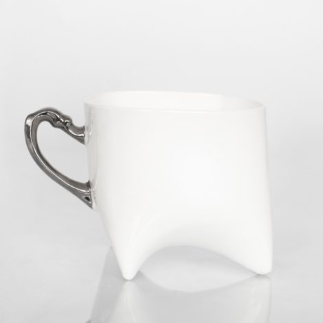 , TRIPLE CUP – WHITE WITH PLATINUM - duzy platyna 470x470