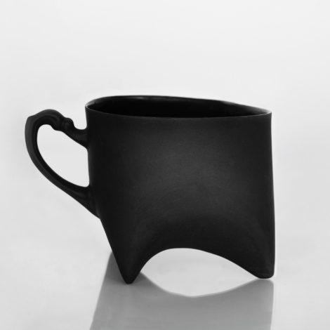 tassen, porzellan_und_keramik, wohnen, TASSE TRIPLE - SCHWARZ - dyzu czarny 470x470