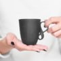 , SMALL MOBIUS CUP - BLACK - mob czarny2 90x90
