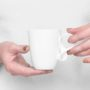 , SMALL MOBIUS CUP - WHITE - mobius bialy ok 90x90