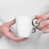 cups, porcelain_and_ceramics, interior-design, SMALL MOBIUS CUP - WHITE WITH PLATINUM - mobius platyna 100x100