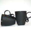 cups, porcelain_and_ceramics, interior-design, SMALL MOBIUS CUP - BLACK - mobius small black 1 100x100