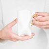 tassen, porzellan_und_keramik, wohnen, TASSE TRIDENT - WEIß MIT GOLD - wysoka zlota rece 100x100