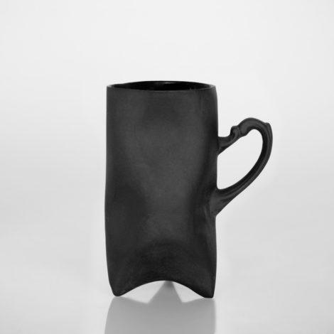 , TRIDENT CUP - BLACK - wysoki czarny 470x470