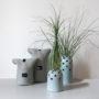 , KLEINE VASE FLY'S EYE | BLAU - Flys Eye Vase 3 90x90