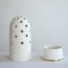 vasen, porzellan_und_keramik, wohnen, GROßE VASE FLY'S EYE | WEIß MIT GOLDENEM RAND - Krafla D BZ 3 1000x667 100x100