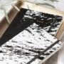 , NOTEBOOK PAPER LOVE ECO MARBLE BLACK - MG 6903 90x90