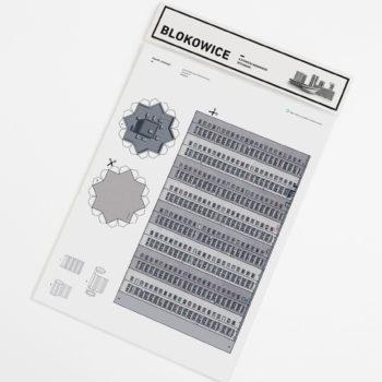 papierartikel, paper-cut-outs, BLOKOWICE | OSIEDLE GWIAZDY - kitB gwiazdy zupagrafika 350x350