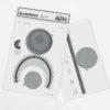 paper-cut-outs, papierartikel, BLOKOWICE | SPODEK - kitB spodek zupagrafika 100x100