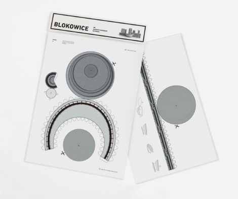 paper-cut-outs, papierartikel, BLOKOWICE | SPODEK - kitB spodek zupagrafika 470x393