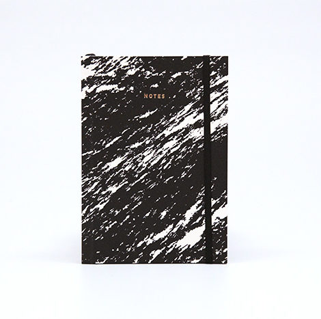 , NOTEBOOK PAPER LOVE ECO MARBLE BLACK - marble black 1 470x467