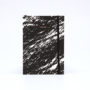 , NOTEBOOK PAPER LOVE ECO MARBLE BLACK - marble black 1 90x90