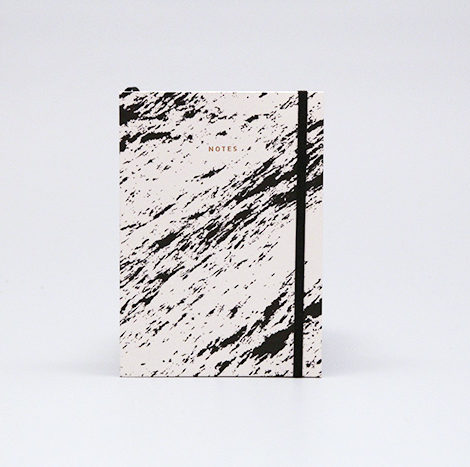 , NOTEBOOK PAPER LOVE ECO MARBLE WHITE - marble white 1 470x467