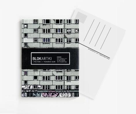 postkarten-und-grusskarten, papierartikel, BLOCARDS POZNAŃ | POSTKARTEN SET - 1 470x393