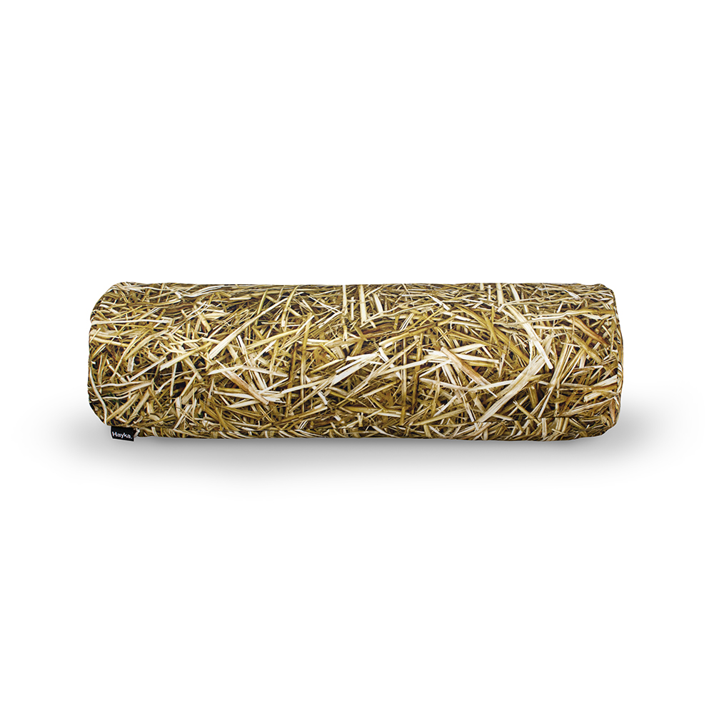 wohntextilien, wohnen, hochzeitsgeschenke, bettwaesche, HAYKA STROH KISSENBEZUG - STRAW buckwheat bolster 1