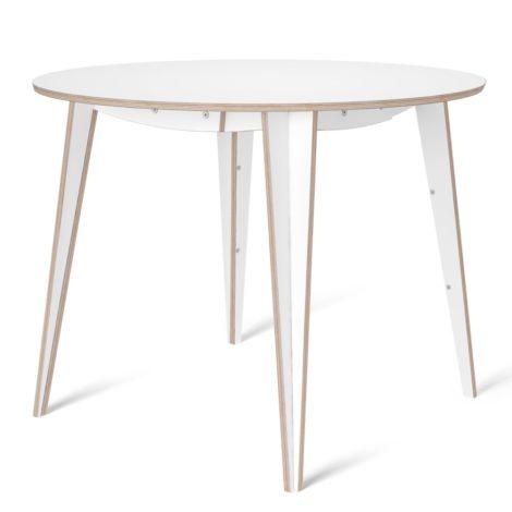 tables, furniture, interior-design, MACIEK ROUND TABLE | 100CM - maciek fi100 white fs 1 470x470