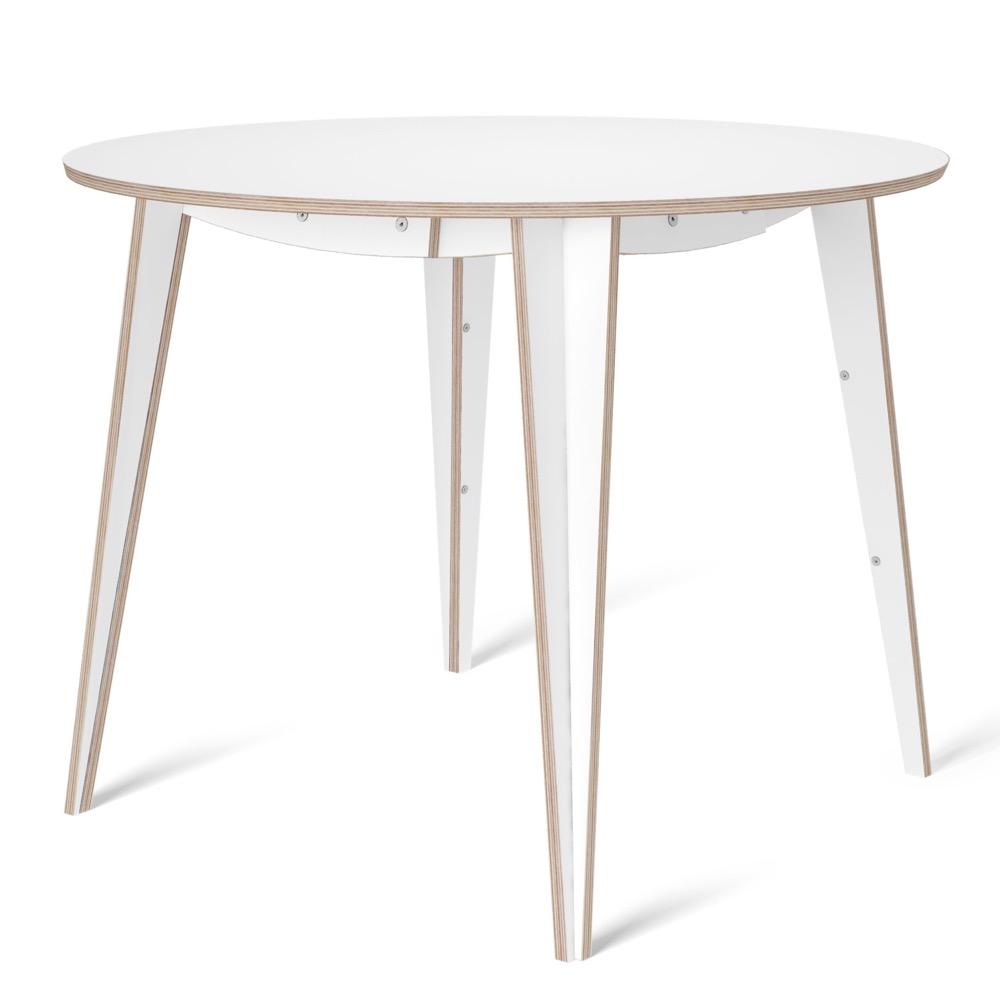 tables, interior-design, furniture, MACIEK ROUND TABLE | 100CM - maciek fi100 white fs 1