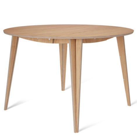 , MACIEK ROUND TABLE | 120CM - maciek fi120 oak fs 1 470x470