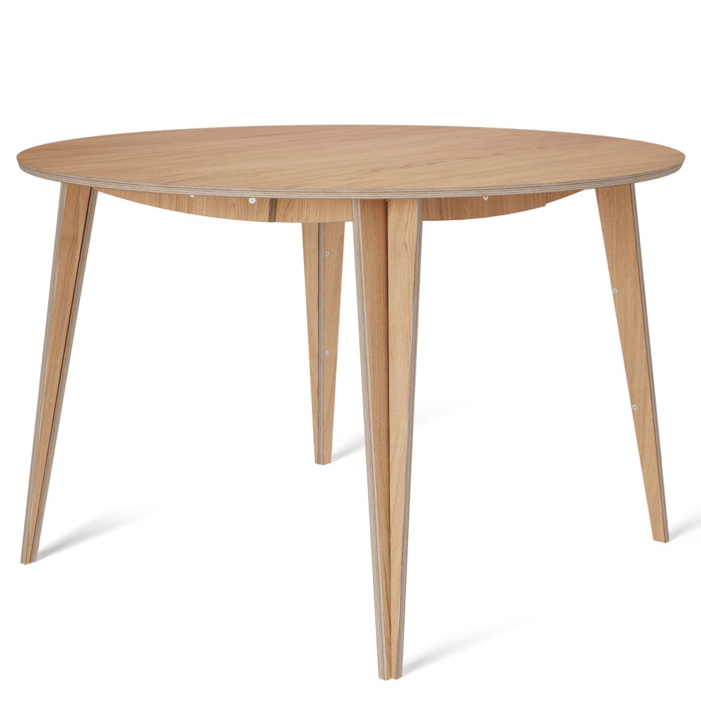tables, interior-design, furniture, MACIEK ROUND TABLE | 120CM - maciek fi120 oak fs 1