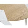 , MOBIUSH COFFEE TABLE | OAK - mobiush oak white dt 3700 90x90