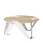 , MOBIUSH COFFEE TABLE | OAK - mobiush oak white fs 3700 90x90