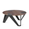 tables, furniture, interior-design, MOBIUSH COFFEE TABLE | WALNUT - mobiush walnut graphite fs 3700 100x100