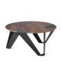 , MOBIUSH BEISTELLTISCH | WALNUSS - mobiush walnut graphite fs 3700 90x90
