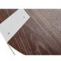 , MOBIUSH BEISTELLTISCH | WALNUSS - mobiush walnut white dt 3700 90x90