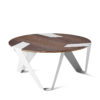 tables, furniture, interior-design, MOBIUSH COFFEE TABLE | WALNUT - mobiush walnut white fs 3650 3700 100x100