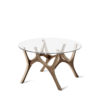 tables, furniture, interior-design, MOOSE COFFEE TABLE | WALNUT - moose baby walnut fs 3700 100x100