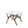 , MOOSE COFFEE TABLE | WALNUT - moose baby walnut fs 3700 90x90